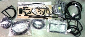 Complete Seal Bundle Kit LHD 72-79, with Opening 1/4 Lights & Top Quality Front Door Seals.   211-898-020