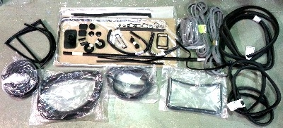 Complete Seal Bundle Kit 72-79, with Fixed 1/4 Lights & Top Quality Front D