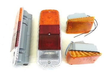 Complete Front Indicator & Rear Light Bundle, Genuine VW 72-79.   SCH901
