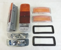 Complete Front Indicator & Rear Light Kit 1972 Crossover, Top Quality.   SCH902