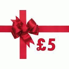 £5.00 Gift Voucher.
