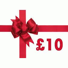 £10.00 Gift Voucher.