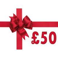 £50.00 Gift Voucher.