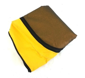 Top Quality Westy Roof Canvas, Yellow, Front Hinged 68-73.   231-069-708Y
