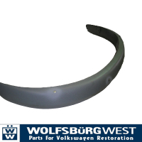 US Front Bumper Slash Cut. with Holes for Overiders 59-67.   213-707-105B