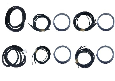 6 Window Seal Kit Van Conversion Chrome Insert.   211-845-521CK