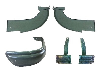 Ribbed Bumper Kit 55-58 SCHRB001