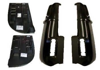 Complete Rear Corner & Battery Tray Bundle 72-79.   SCHC001