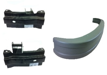Rear Bumper + Bracket Kit 73 - 79