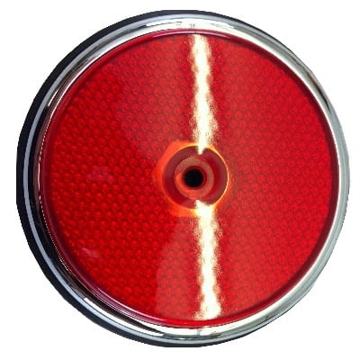 Side Reflector USA red 69-69 W/Gasket 211-945-557/R