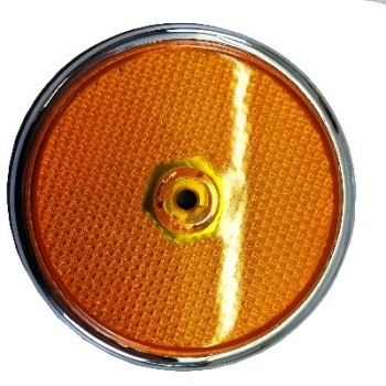 Side Reflector USA amber 68-69 W/Gasket 211-945-555A