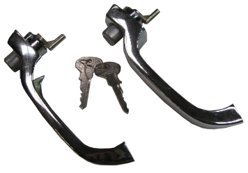 Front Door Handles Best Quality (Pair) 64-68.   211-837-205J
