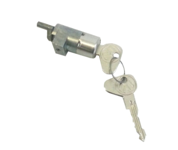Sliding Door Lock Barrel w/Key, Genuine VW RHD 74-79. 214-843-709