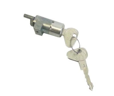 Sliding Door Lock Barrel w/Key RHD 74-79. 214-843-709