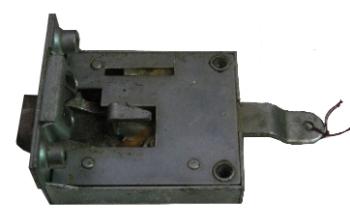 Cab Door Mechanism Passenger side 55-60. Genuine VW  211-837-016B