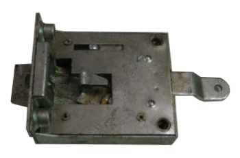 Cab Door Mechanism Genuine VW Passenger Side 60-63.   211-837-016C