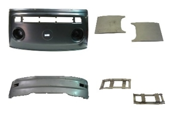 Front Panel to Windscreen DIY Kit 68-72 211-805-035D