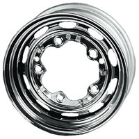 "15"" Steel Wheel, Chrome 5.5x15, 5 Stud.  AC601142"