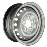 Standard Steel Wheel 5.5 x 14, Silver 71-92.   211-601-027HG