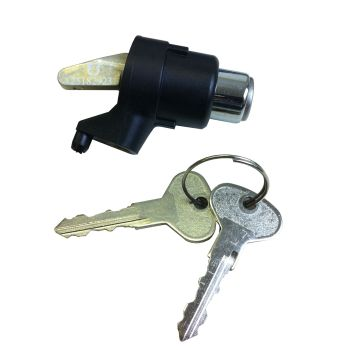 Tailgate Lock with Keys for non central locking. 80-85.  251-829-231