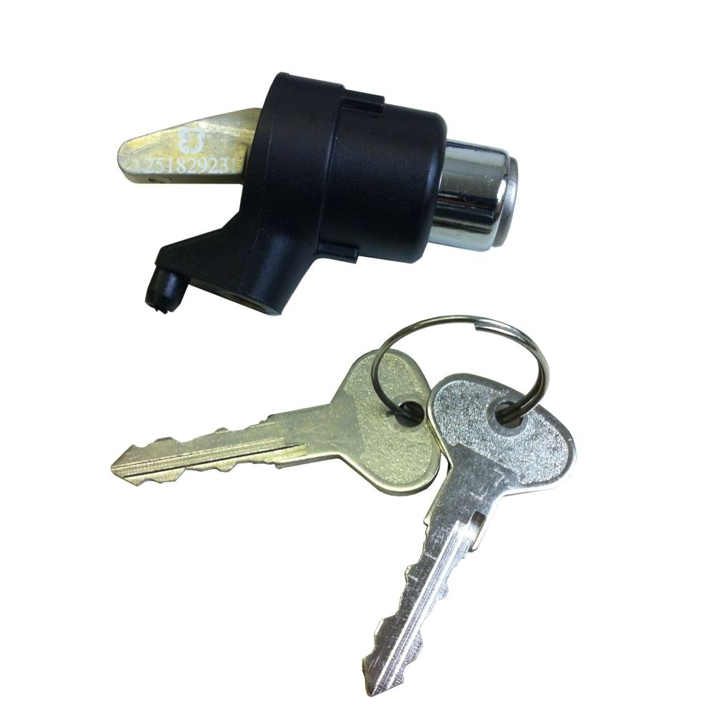 Tailgate Lock with Keys for non central locking. ->84.  251-829-231