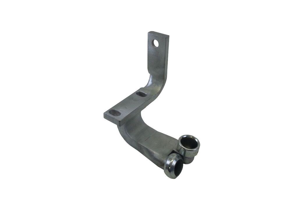 Complete bottom sliding roller bracket RHD 68-79 214-843-437B