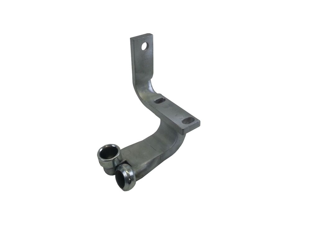 Complete bottom sliding roller bracket LHD 68-79 211-843-437B