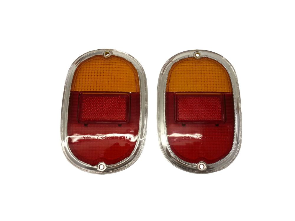 Rear Light Lenses, Good Quality (Pair) 62-71.    211-945-241M