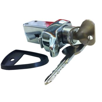Engine Lid Lock 72-79, Chrome.   211-827-503LC