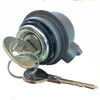 Tailgate Lock, for non central locking 85-92, Genuine NOS.   251-829-231B