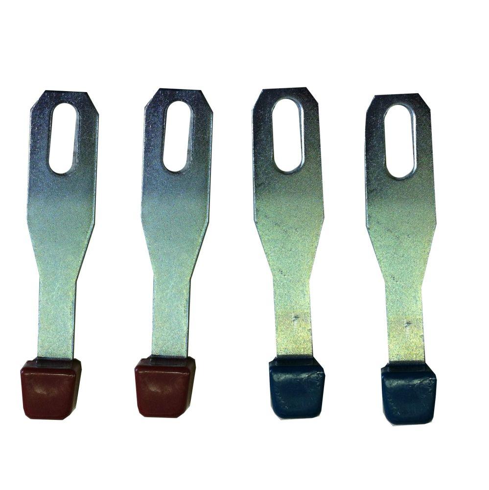 Heater Lever Set, Original Quality (set of 4) 67-73.   211-711-369