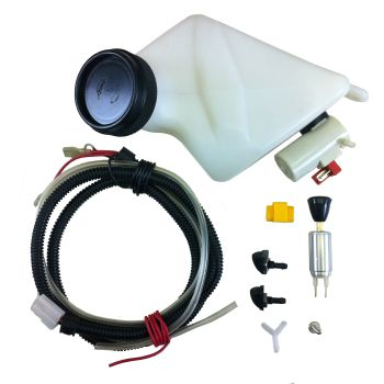Electric Washer Bottle Kit, 12volt LHD (can fit RHD) 55-67.   211-953-453B