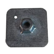 Seat Belt Anchor Nut & Plate ->90.   SEC1