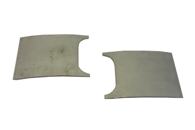 Front Panel Indicator Blanking Plates, Pair 68-72.   211-805-031B