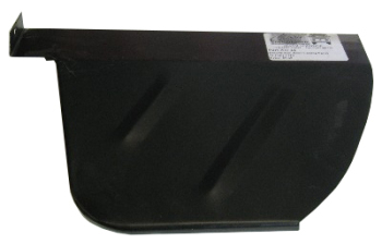 Rear Wheel Arch Tub Closing Panel, Left 1971 only.   211-801-563F