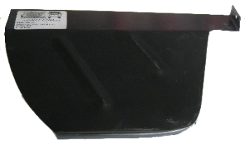 Rear Wheel Arch Tub Closing Panel, Right 1971 only.   211-801-564F