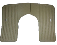 Door Cards, Pair, Beige 68-74.   211-867-105DBG