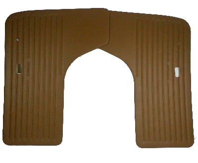 Door Cards, Pair, Tan 68-74.   211-867-105DTN