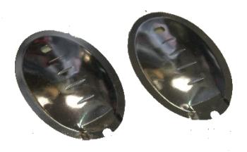 Door Handle Finger Plate (pair) 68-79.   211-898-831