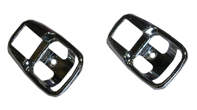 Inner Door Pull Chrome Surround (pair) 74-79.   113-837-239BCM