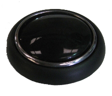 Steering Wheel Horn Push Black 55-67.   211-415-669B