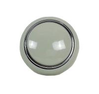 Steering Wheel Horn Push, Grey 55-67.   211-415-669G