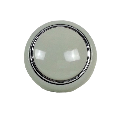 Steering Wheel Horn Push, Grey 55-67.   211-415-669G