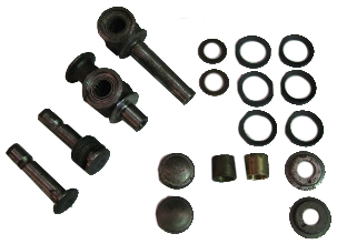 King & Link Pin Kit N.O.S (one side) 55-62.   211-405-367B