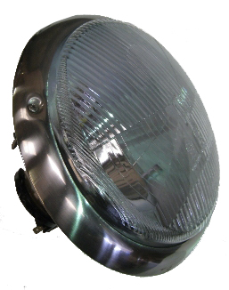 Hella Headlight RHD Lens, Right Side 55-67.   214-941-040