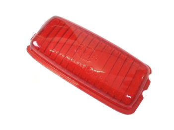 Hella Rear Brake Light Lens, Red ->57.   211-945-331A