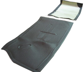 Underseat Mats GREY (PAIR) ->67.   234-865-665