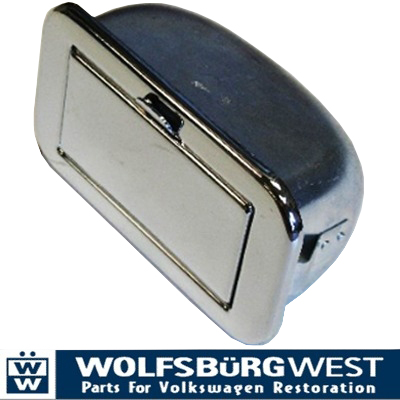 Ashtray, Chrome 55-67.   221-857-305