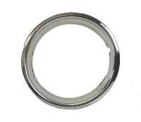 """15"""" Steel Beauty Rings (set of 4).   113-698-500"""