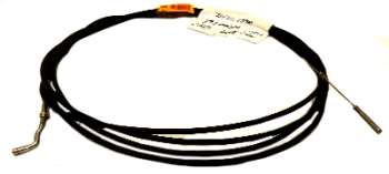 Heater cable - left  1700cc-2.0L 8/72-79 LHD (4100mm) 211-711-629N
